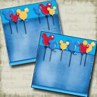 Magical Balloons NPM Disney Premade Scrapbook Pages EZ Layout 2956