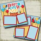 Best Day Ever Disney Premade Scrapbook Pages EZ Layout 2957