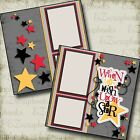 Wish Upon a Star Disney Premade Scrapbook Pages EZ Layout 2969