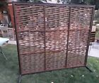 Vtg mid century modern style divider room abstract screen 02.11.18