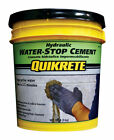 Quikrete 1126 20 Concrete Grey Hydraulic Water Stop Cement 20 lbs
