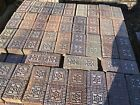 Nelsonville salt glazed STAR and BULLSEYE Brick.......price per brick