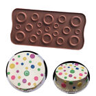 Silicone Button Chocolate Mold Candy Sugar Craft Tray Muffin Mould Resin DIY
