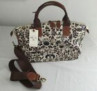 Nica Grab Bag Handbag with detachable strap Summer Botanical print New Tag