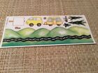 Camper Travel Large Sheet Assorted Stickers New