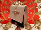 BALLY MONACO BAY NAVY AND WHITE LEATHER VINTAGE SHOULDER BAG CLASSIC ITEM