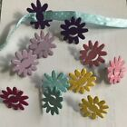 Embellishments for Paper Crafting or Scrapbooking Flower Brads