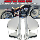 Pair Chrome Battery Side Fairing Cover For Honda Magna VF750 VF750C 1994-2004