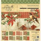 GRAPHIC 45 WINTER WONDERLAND 8X8 PAPER PAD CHRISTMAS HOLIDAY SCRAPJACKS PLACE
