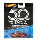 Hot Wheels 50th Anniversary Favorites 56 Chevy 1 64 Diecast Car