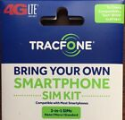 TRACFONE 4G LTE SIM CARD ALL 3 SIZES IN 1 VERIZON WIRELESS NETWORK
