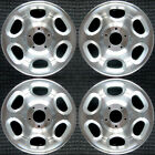 Set 2000 2001 2002 Lincoln Navigator OEM Factory 17 Machined Wheels Rims 3389
