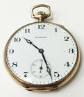 E Howard 14k Gold Filled Wind Up Vintage Pocket Watch 17Jewels Circa 1915