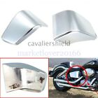2Pc Chrome Battery Side Fairing Cover For Honda Shadow ACE 750 VT750 VT400 97-03