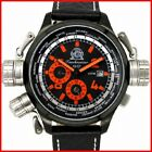 Tauchmeister T196 Military GMT Alarm XL men`s watch