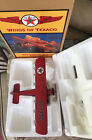 Wings Of Texaco 1929 Curtiss Robin Airplane Die Cast Metal Coin Bank NEW IN BOX