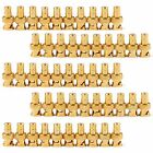 50 Pcs Gold Plated BNC Female To RCA Phono Male Adapter