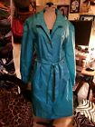 Vintage womens light weight hooded rain trench The Totes Coat