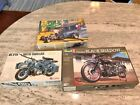Revell Paddy Wagon 1/35 Lion Roar German Motorcycle 1:12 Vincent Black Shadow