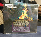 STAR WARS CHROME ARCHIVES Factory Sealed Trading Card Hobby Box Box NEW Topps