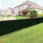 Customize 4 FT Tall Green Privacy Screen Fence Windscreen Mesh Shade Cover