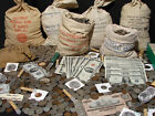 OLD US COINS ESTATE SALE LOT  GOLD SILVER BULLION CURRENCY 50 YEARS OLD A