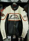 WOMENS HARLEY DAVIDSON SCREAMING EAGLE LEATHER RACING JACKET 98226 06VW