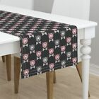 Table Runner Grizzly Bear Bear Bears Hipster Geometric Bow Tie Cotton Sateen
