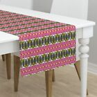 Table Runner Beets Vegetables Ottomanbrim Farmers Market African Cotton Sateen
