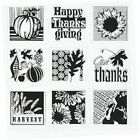 Clear Stamps 10 Piece Harvest Inchies Set