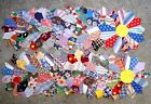 Lot of 19 Vintage 1930's Dresden Plate Quilt Blocks hand stitched