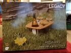 Legacy Picnic Time Mesavino Portable Wine and Snack Table Gift Camping Cheese