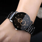 KEVIN New Design Women Watches Fashion Black Round Dial Stainless Steel Band Qua