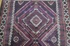 4'7x9'2 Genuine S Antique Persian Tribal Mousel Balouch Baluch Handmade Wool Rug