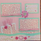 12X12 UNTITLED BABY GIRL PREMADE SCRAPBOOK PAGE LAYOUT MSND TONYA