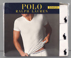 Polo Ralph Lauren Multi Three Pack Cotton Classic Fit V Neck Under Shirt White