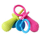 New Rubber Pacifier for Pet Toys Dog Cat Puppy Chew Toys Bell Sound Inside new