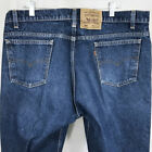 VTG Levis 505 Mens Jeans Orange Tab Straight Leg 42 x 34 Altered 41 x 325 USA