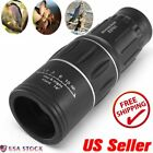 Monocular 16x52 Optics Zoom Lens Camping Hiking Telescope Scope Outdoor OY2