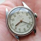 Vintage Stainless Steel ROLEX Oyster Royal #6044 15 Rubies . Repairs. no band