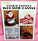 Holiday Keepers In Plastic Canvas Chart Leaflet Holiday Basket Holder Container