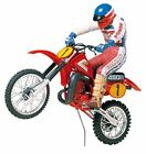 1/12 motorcycle series No.18 Honda CR450R motocross rider 14018 Japan new.