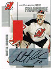 03-04 ITG Used Signature Series FRANCHISE Martin BRODEUR - Auto and Jersey