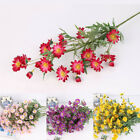 1 Pc Artificial Small Daisy Fake Flower Leaves Home Wedding Shop Decor Modish