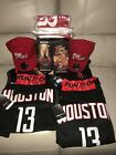 2018 Houston Rockets Playoffs Authentic 2X Fan Pack (Jerseys, Bobbleheads, Hats)
