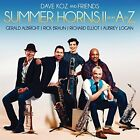 Summer Horns II From A To Z Dave Koz CD Brand New Ships Worldwide