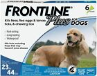 Frontline Plus for Medium Dogs 23 44 lbs 8 Doses flea and tick treatment