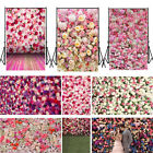 5x7FT Romantic Flower Wall Background Valentines Day Lovers wedding Backdrops