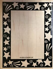 RARE Retired Stampin Up Shooting Stars Rubber Stamp Shooting Star Frame