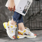 Womens Open Toe Fashion Sneakers Lace Up Platform Sport Sandals Casual Shoes New